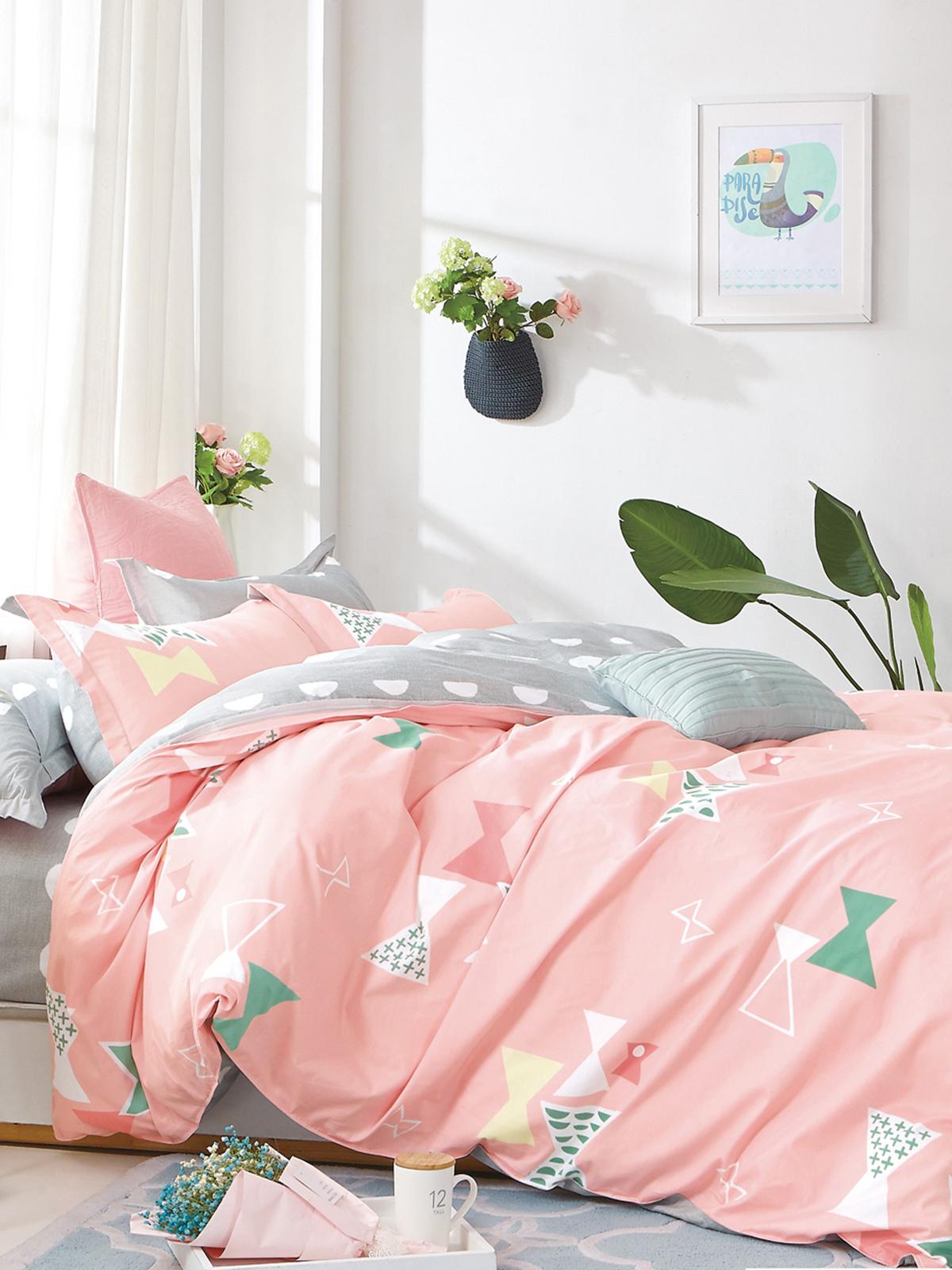 Комплект постельного белья Dream Time BLK-46-SP-419-1C постельное белье dream time blk 46 sp 337 1 2c 3 предмета