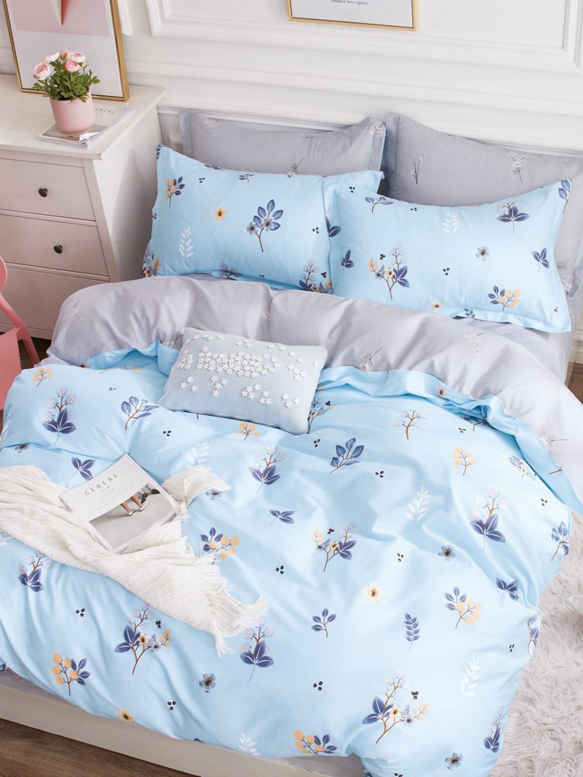 Комплект постельного белья Dream Time BLK-46-SP-420-1C постельное белье dream time blk 46 sp 337 1 2c 3 предмета