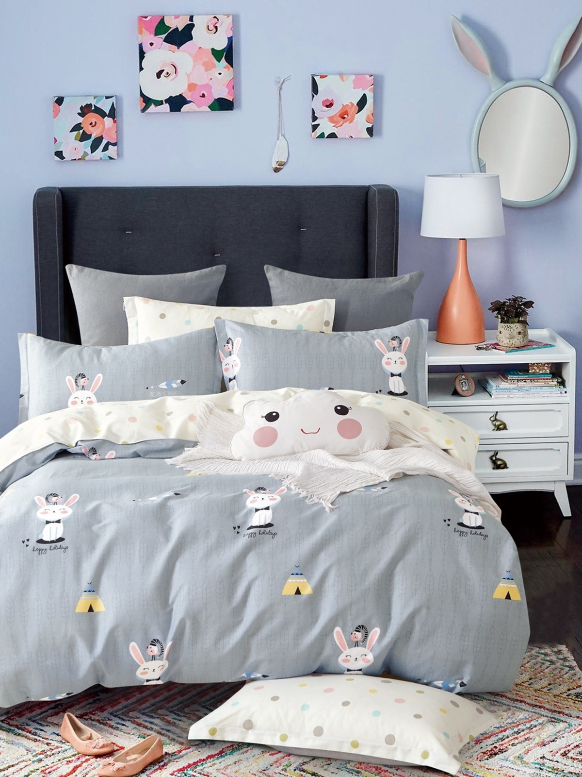 Комплект постельного белья Dream Time BLK-46-SP-425-1C постельное белье dream time blk 46 sp 337 1 2c 3 предмета