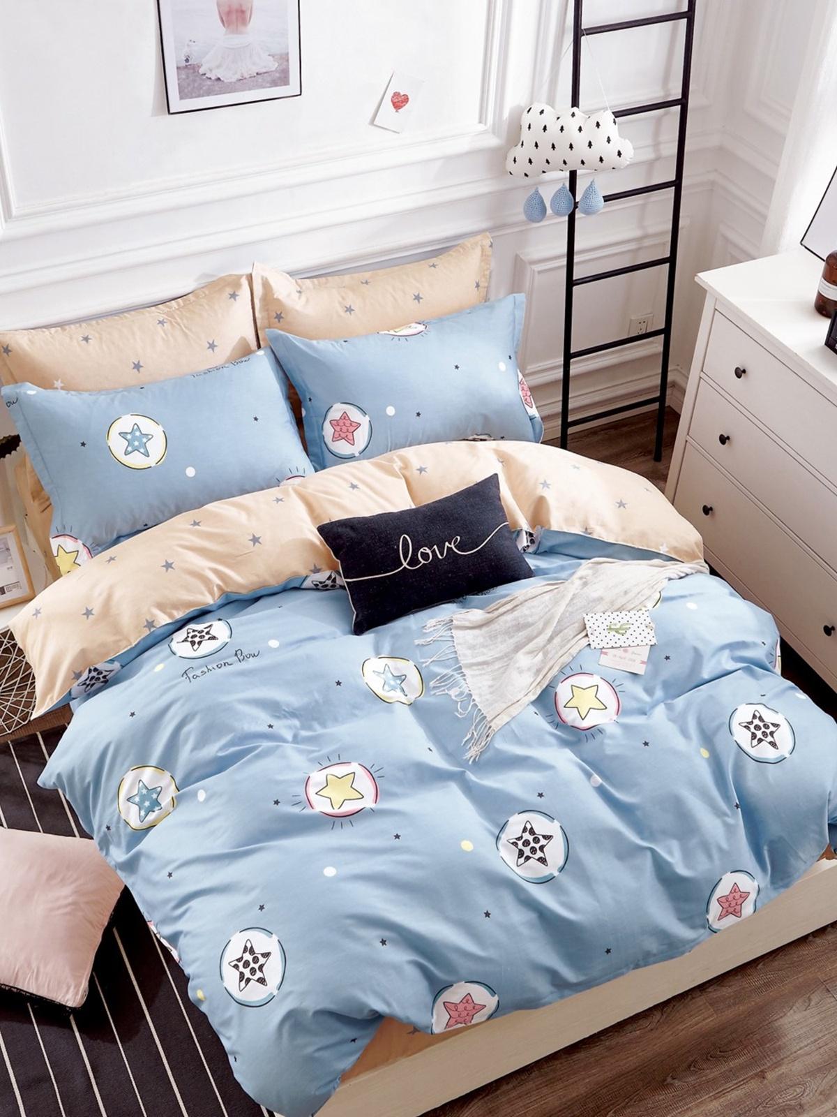 Комплект постельного белья Dream Time BLK-46-SP-428-1C постельное белье dream time blk 46 sp 337 1 2c 3 предмета