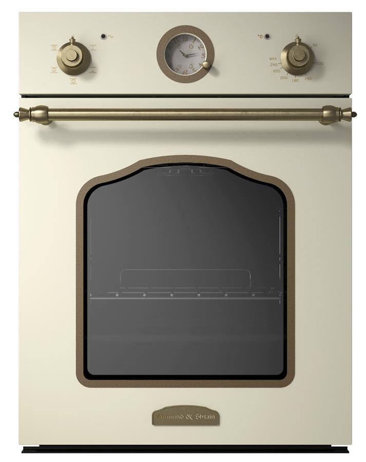 Духовой шкаф Zigmund & Shtain EN 110.622 X, слоновая кость, бежевый