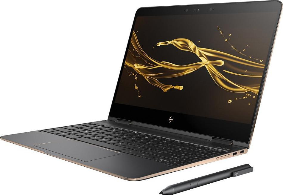 13.3 Ноутбук HP Spectre x360 13-ap0000ur 5MN23EA, серый ноутбук в режиме будильника