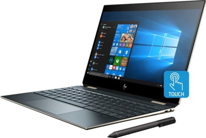 13.3 Ноутбук HP Spectre x360 13-ap0001ur 5MJ28EA ноутбук в режиме будильника