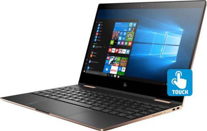 13.3 Ноутбук HP Spectre x360 13-ap0002ur 5MN15EA, серый ноутбук в режиме калькулятора