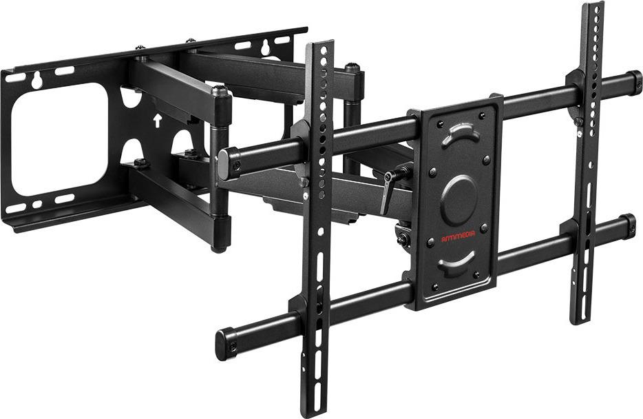 Кронштейн для ТВ Arm Media Paramount-70, для TV, 10199, 32-90, черный кронштейн arm media cobra 45 black для led lcd tv 22 65 max 45 кг настенный 4 ст свободы max vesa 400x400 мм