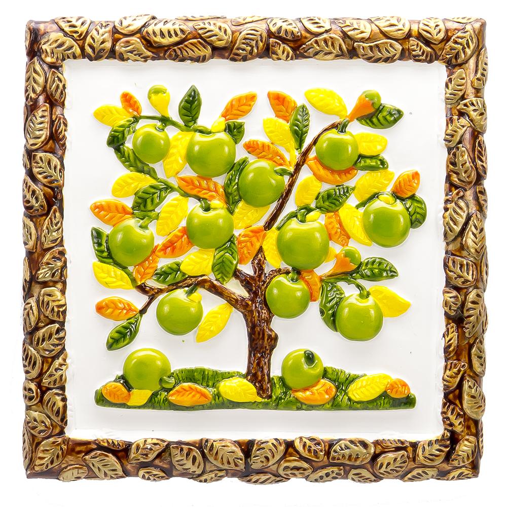 Декоративное панно Мастер Чирва Большая яблоня (СК-406), желтый
