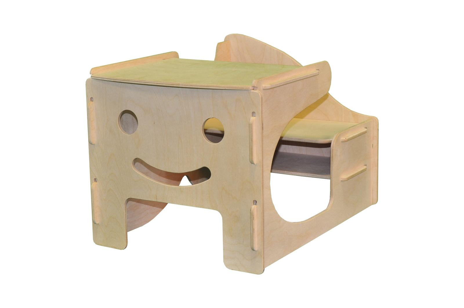 Мебель для кукол Woodlines Парта бежевый