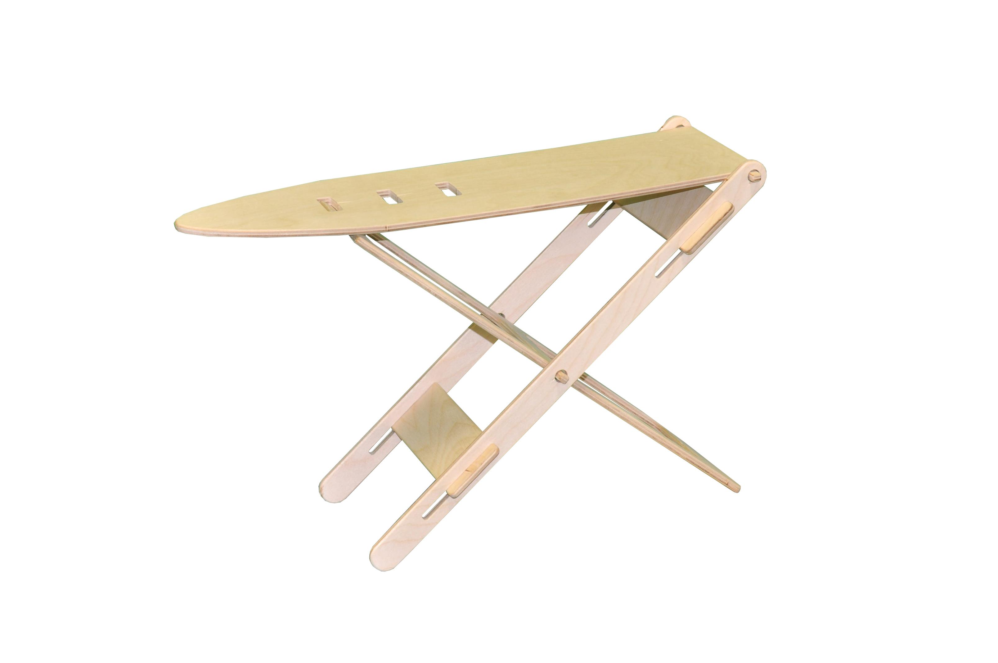 Мебель для кукол Woodlines Гладильная доска бежевый