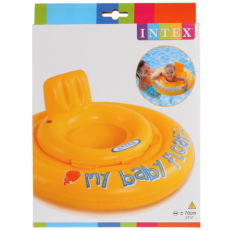 Матрас надувной для плавания Intex 56585 круг для плавания детский intex ocean reef 61см 59242