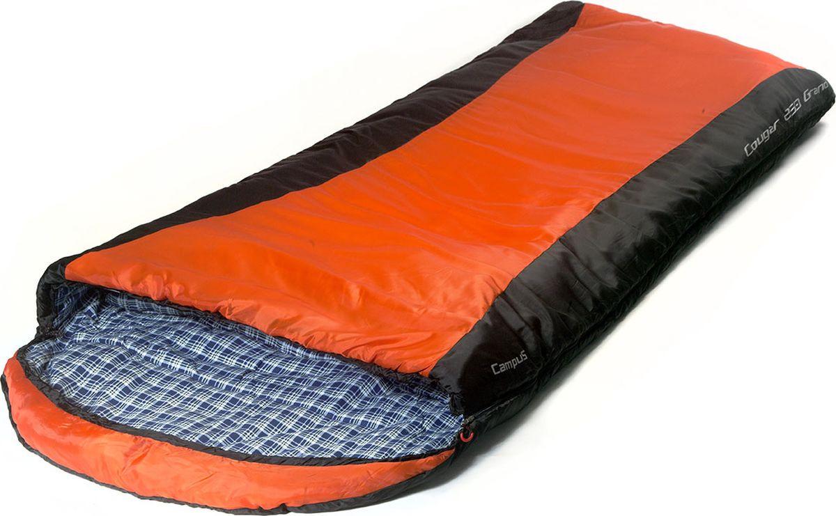Спальный мешок Campus Coguar 250 Grand L-Zip, 210 х 35 х 110 см