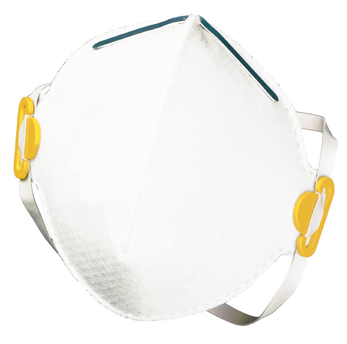 Респиратор/маска GVS F20000-HFUA, белый, желтый GVS