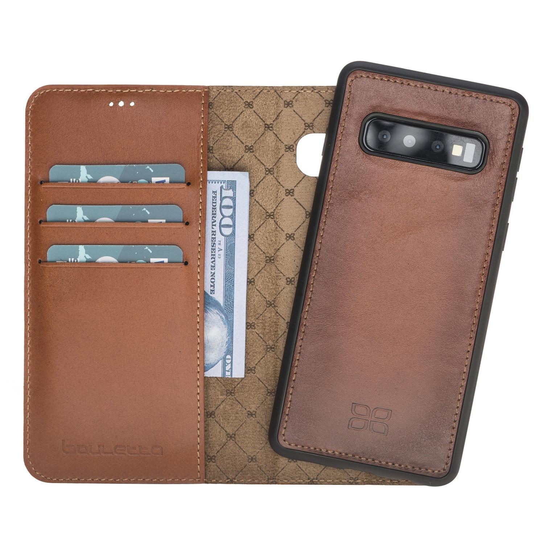 Чехол для сотового телефона Bouletta для Samsung S10 MagicWallet, бронза