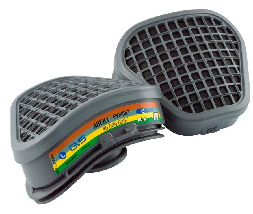 Фильтр для респиратора/маски GVS фильтры gvs spr336idud сменные elipse p3 с защитой от запаха для полумасок spr337 502