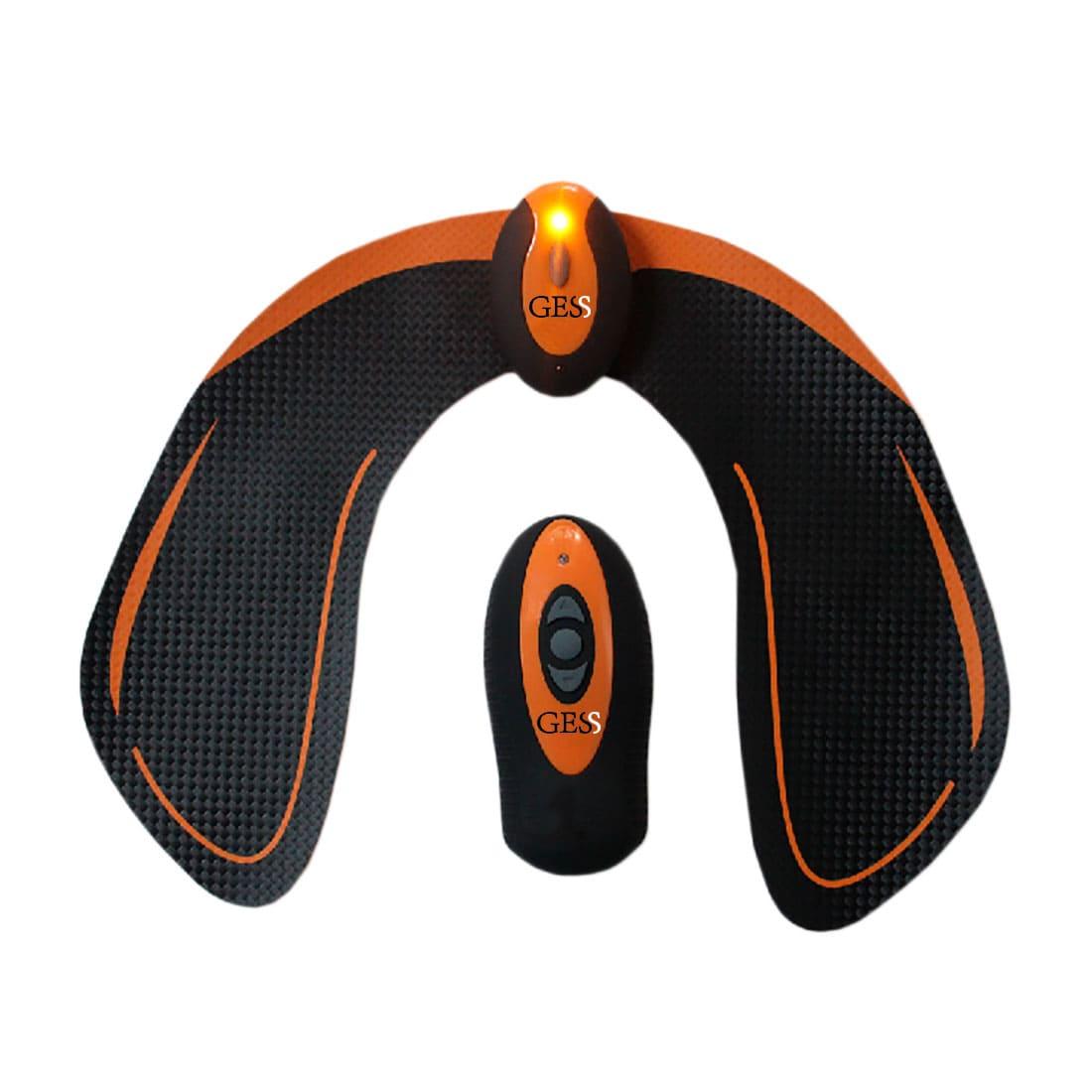 Массажный прибор GESS черно-оранжевый массажный прибор ryp107