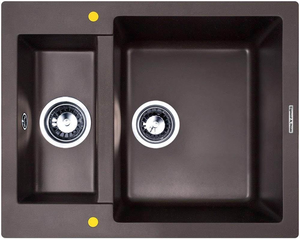 Мойка Zigmund & Shtain RECHTECK 600.2 Швейцарский шоколад