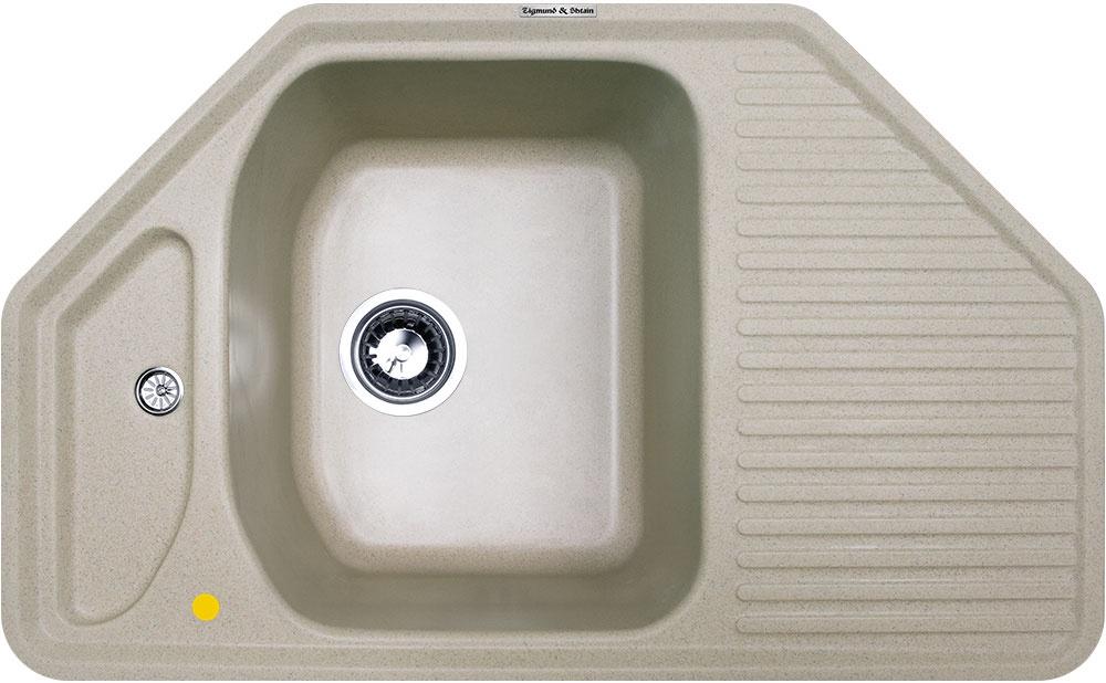 Мойка Zigmund & Shtain 3003030030Общий размер, мм 800*500 мм Ширина шкафа, см 50 см Число основных чаш 1 Форма прямоугольная Угловая да Крыло есть Размер чаши, см 340*420 мм Глубина чаши, мм 210 мм Установка врезная