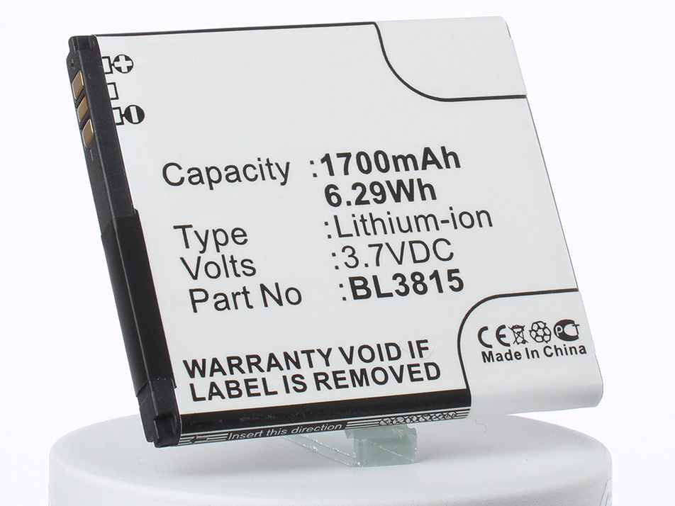 Аккумулятор для телефона iBatt BL3815 для Fly IQ4407, ERA Nano 7 аккумулятор для телефона ibatt ib bl3815 m1760