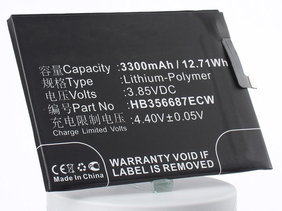 Аккумулятор для телефона iBatt HB356687ECW для Huawei BAC-AL00, BAC-TL00, BAC-L23 manfrotto 1005 bac