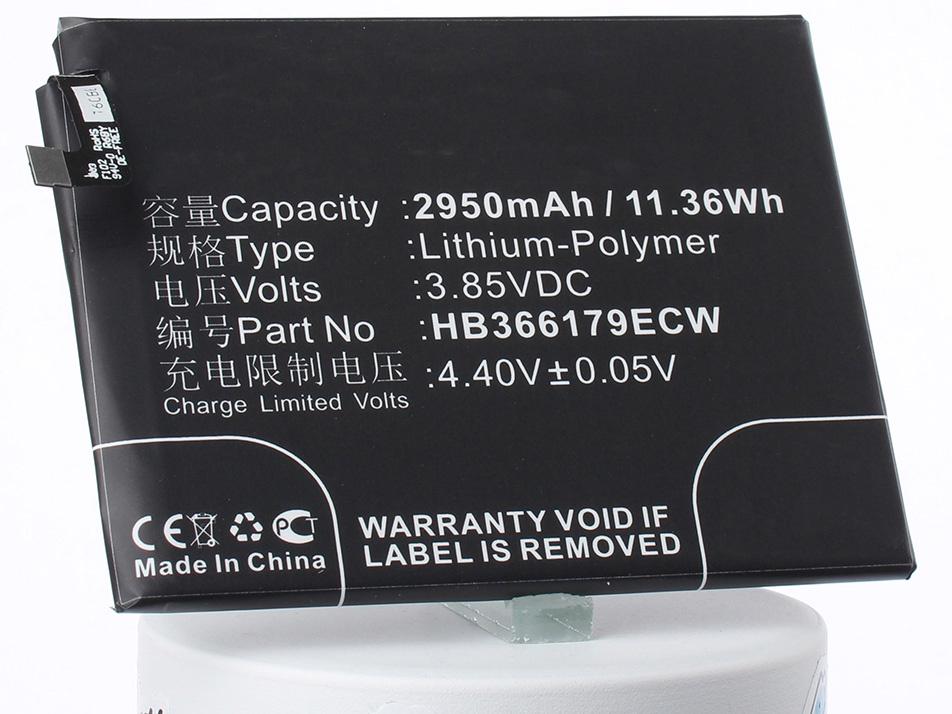 Аккумулятор для телефона iBatt HB366179ECW для Huawei Nova 2, Nova 2 Dual SIM, PIC-AL00 аккумулятор для телефона ibatt ib hb366179ecw m1979