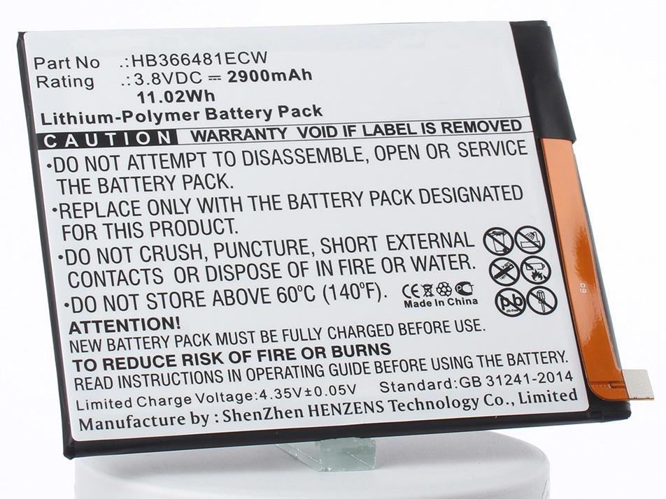 купить Аккумулятор для телефона iBatt HB366481ECW для Huawei Ascend P9, EVA-AL00, 6X по цене 920 рублей