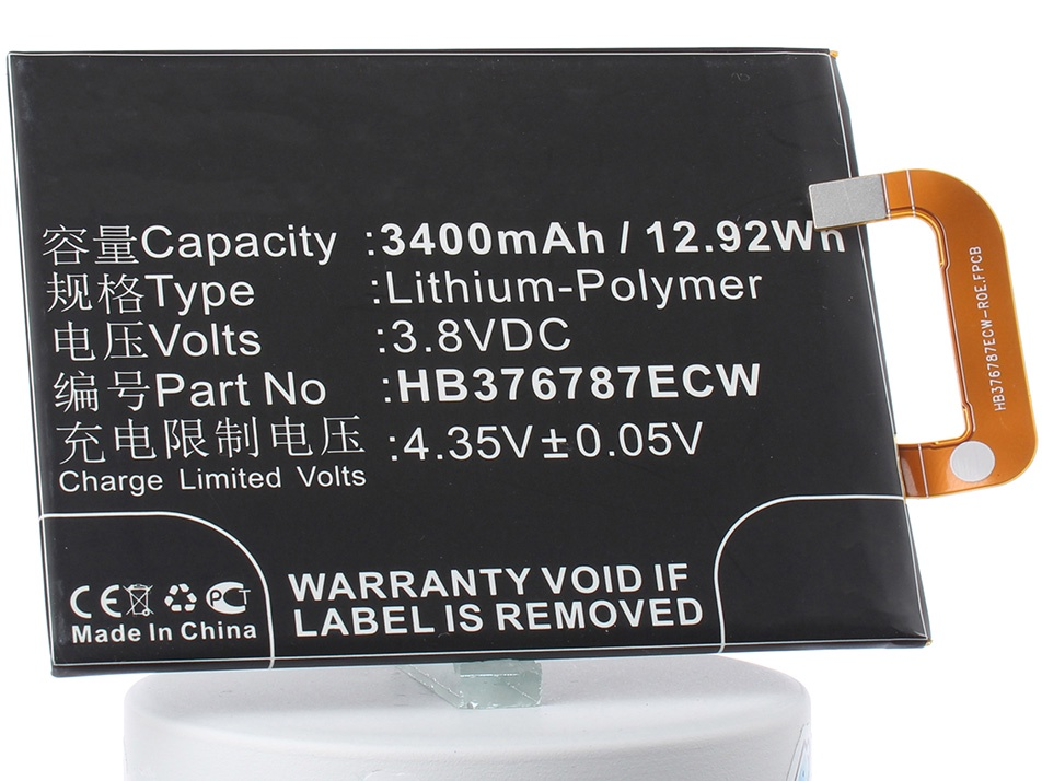 Аккумулятор для телефона iBatt HB376787ECW для Huawei Honor V8, KNT-AL10, Honor V8 Premium аккумулятор для телефона ibatt hb376787ecw для huawei honor v8 knt al10 honor v8 premium