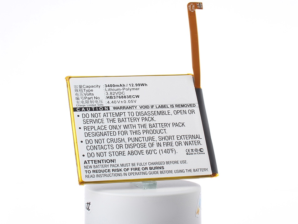 купить Аккумулятор для телефона iBatt HB376883ECW для Huawei P9 Plus, P9 Plus Dual SIM, Ascend P9 Plus по цене 1360 рублей