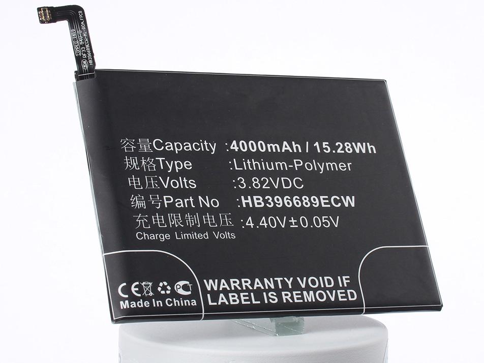 Аккумулятор для телефона iBatt HB396689ECW для Huawei Mate 9, Mate 9 Dual SIM, Ascend Mate 9 goowiiz синий huawei mate 9 pro