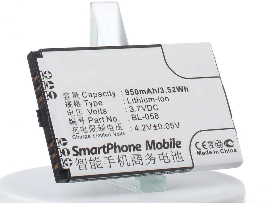 Аккумулятор для телефона iBatt BL-072, BL-068 для Lenovo E209, A307, A320 цена и фото