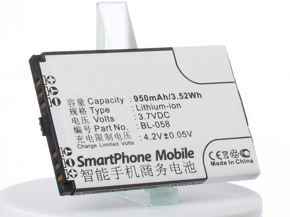 Аккумулятор для телефона iBatt BL-072, BL-068 Lenovo E209, A307, A320
