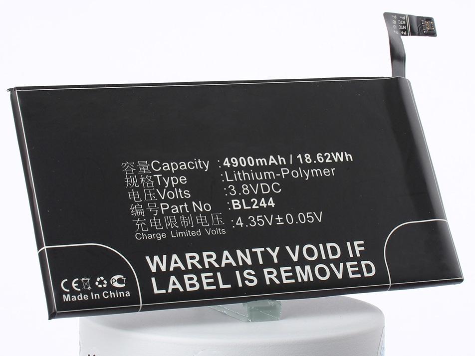 Аккумулятор для телефона iBatt BL244 для Lenovo P1c58, P1c72, P1 Turbo аккумулятор для телефона ibatt bl244 для lenovo p1c58 p1c72 p1 turbo