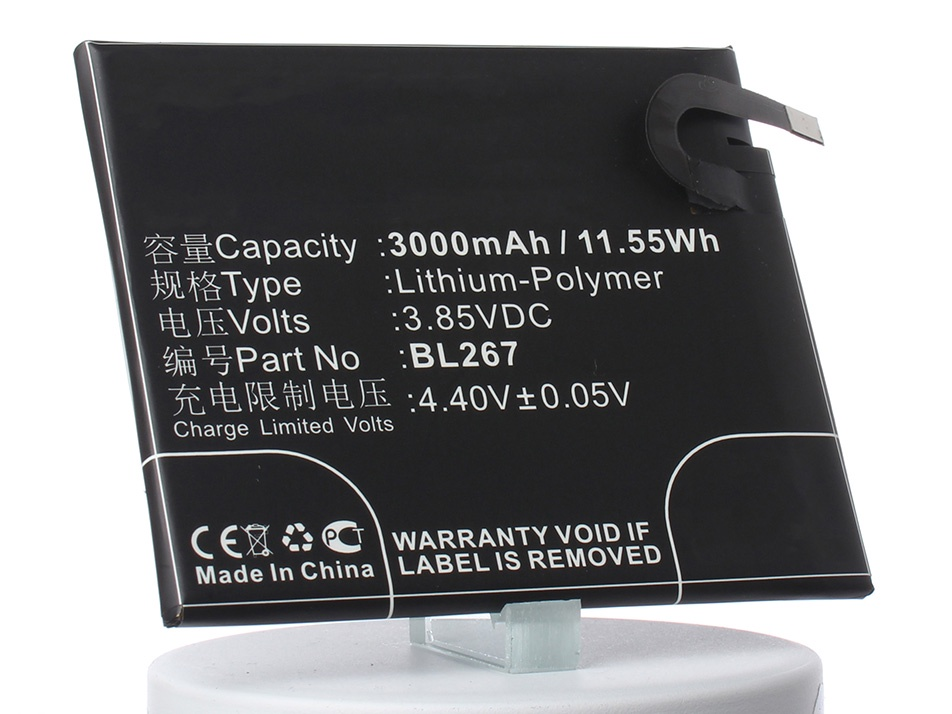 Аккумулятор для телефона iBatt BL267 для Lenovo Vibe K6 цена 2017
