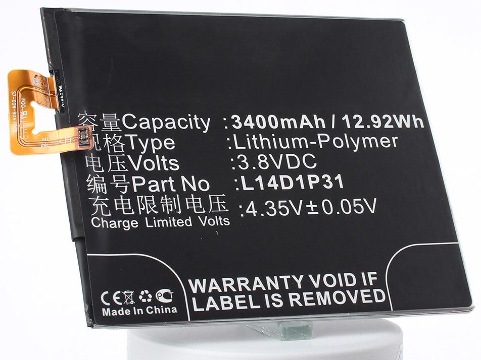 Аккумулятор для телефона iBatt L14D1P31 для Lenovo PB1-770N, PB1-770N Dual SIM TD-LTE аккумулятор для телефона ibatt bl250 для lenovo s1a40 s1c50 s1a40 dual sim td lte
