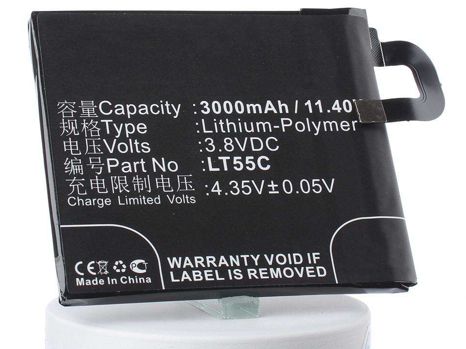 Аккумулятор для телефона iBatt LT55C для LeTV Le 1s, 1s, Le 1s Dual SIM TD-LTE 32GB powerkam pt 1s