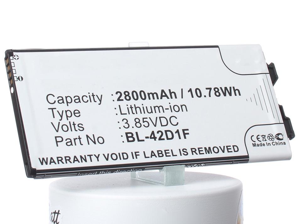Аккумулятор для телефона iBatt BL-42D1F для LG G5 Lite, AS992, G5 цена