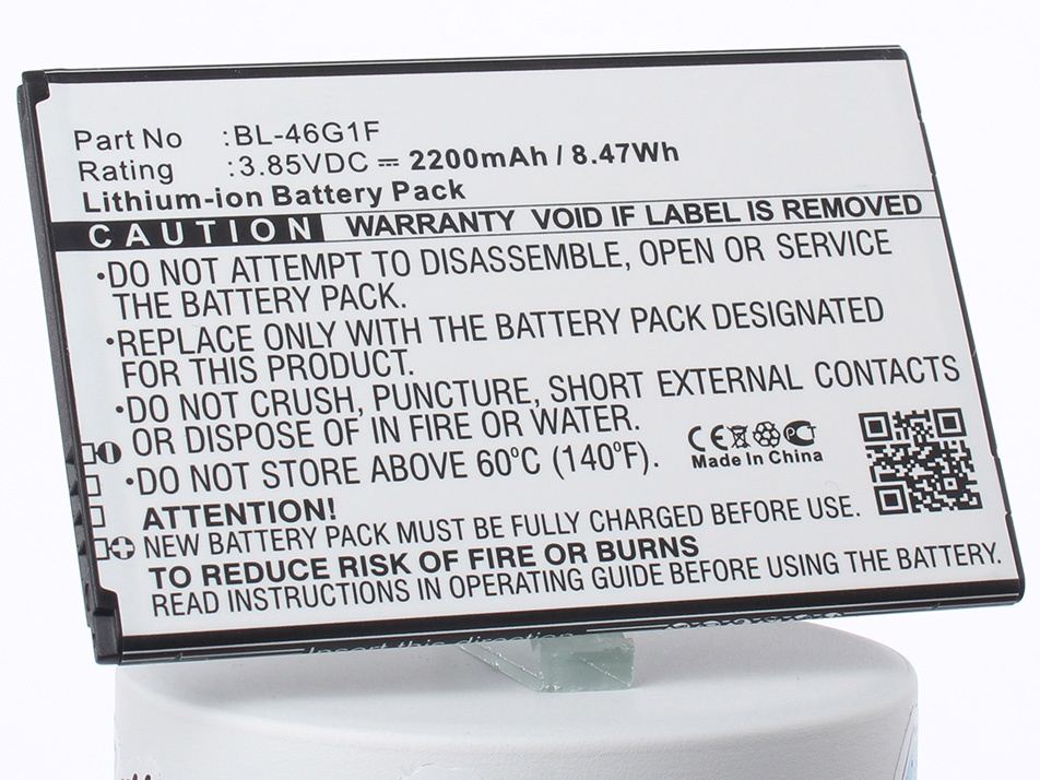 Аккумулятор для телефона iBatt BL-46G1F для LG K10 2017, Grace, Harmony оптический шнур vcom lc fc upc одномодовый simplex vsu301 1m