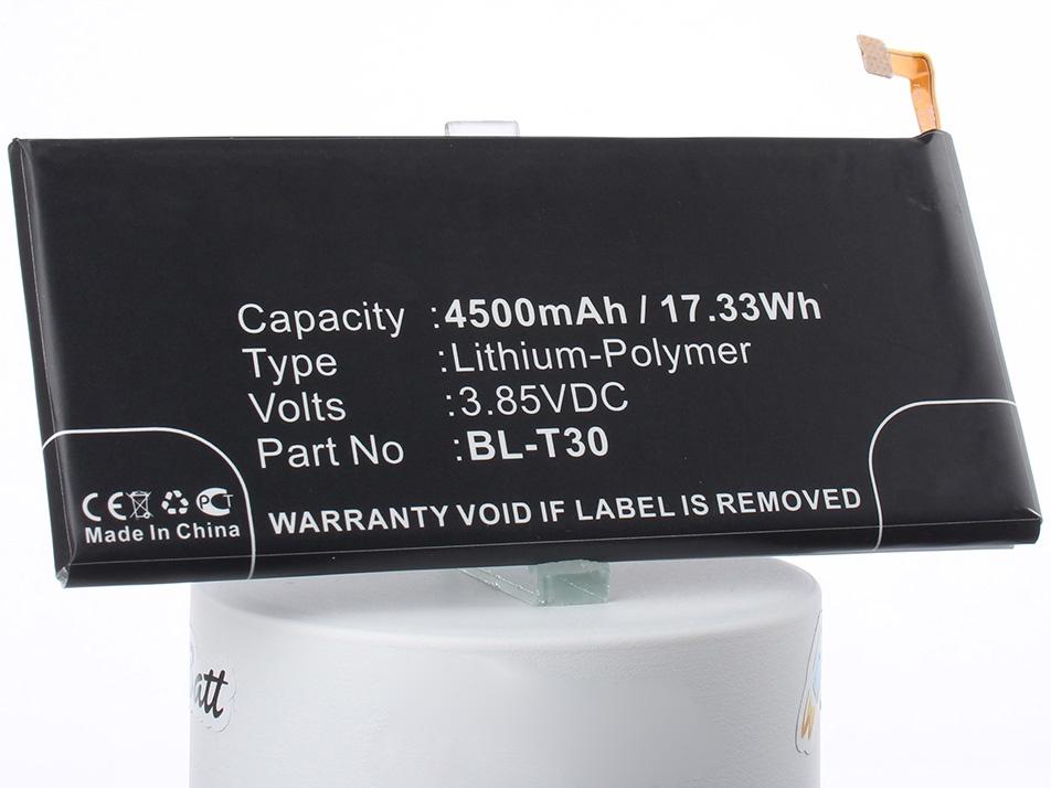 Аккумулятор для телефона iBatt BL-T30, EAC63458501 для LG K10 Power, Fiesta LTE, Fiesta аккумулятор для телефона craftmann bl 53yh для lg d855 g3 с увеличенной ёмкостью до 5900 mah и крышкой чёрного цвета