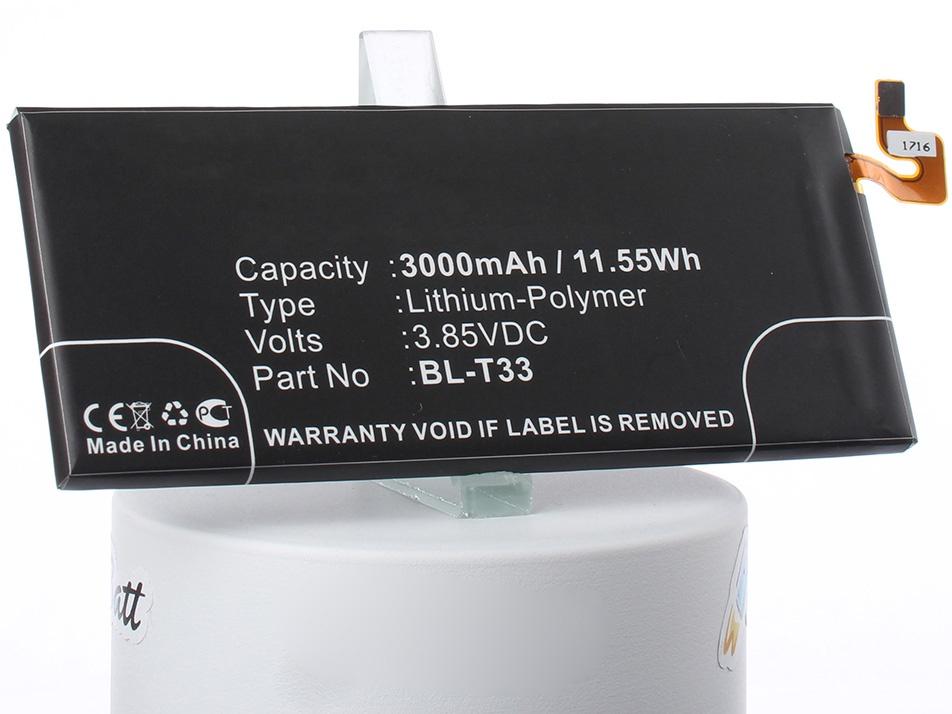 Аккумулятор для телефона iBatt BL-T33 для LG M700AN, M700A, M700DSK lg смартфон lg q6 m700a 32gb ram 3gb черно белый black white