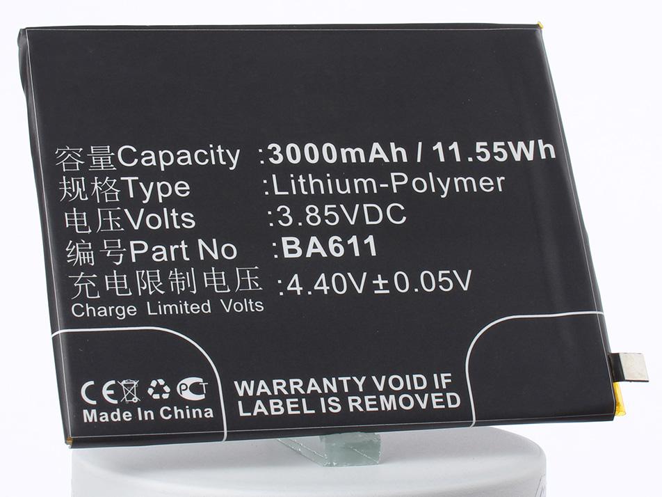 Аккумулятор для телефона iBatt BA611 для MeiZu M611, M5 Dual SIM, M5 аккумулятор для телефона ibatt ba611 для meizu m611 m5 dual sim m5