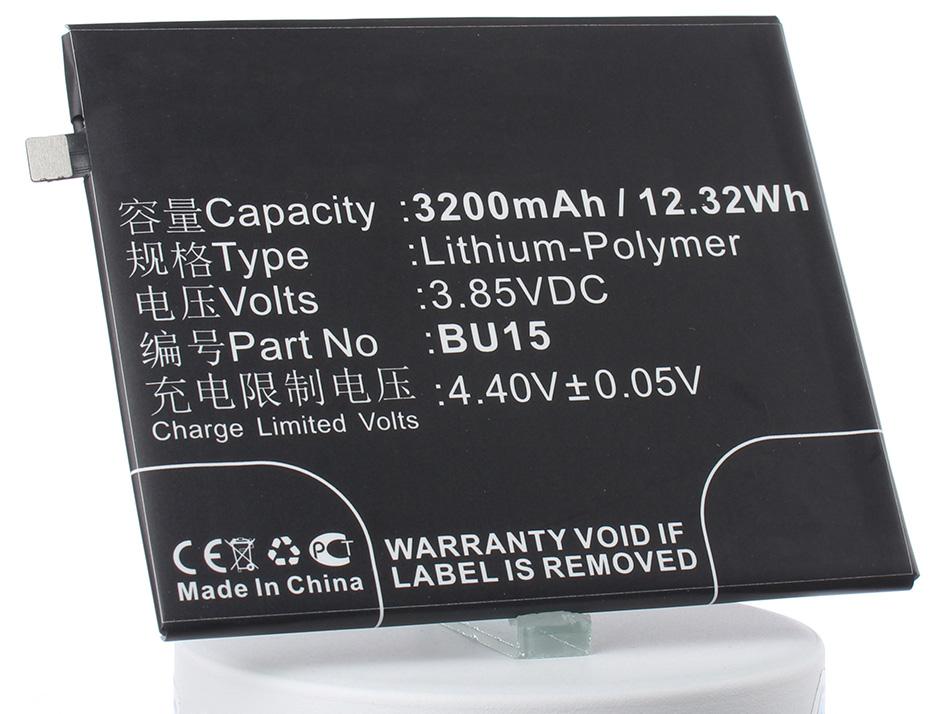 Аккумулятор для телефона iBatt BU15 для MeiZu Meilan U20, Meilan U20 Dual SIM аккумулятор для телефона ibatt ba611 для meizu m611 m5 dual sim m5
