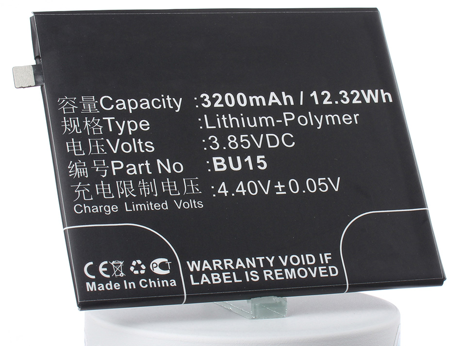 Аккумулятор для телефона iBatt BU15 для MeiZu Meilan U20, Meilan U20 Dual SIM цена
