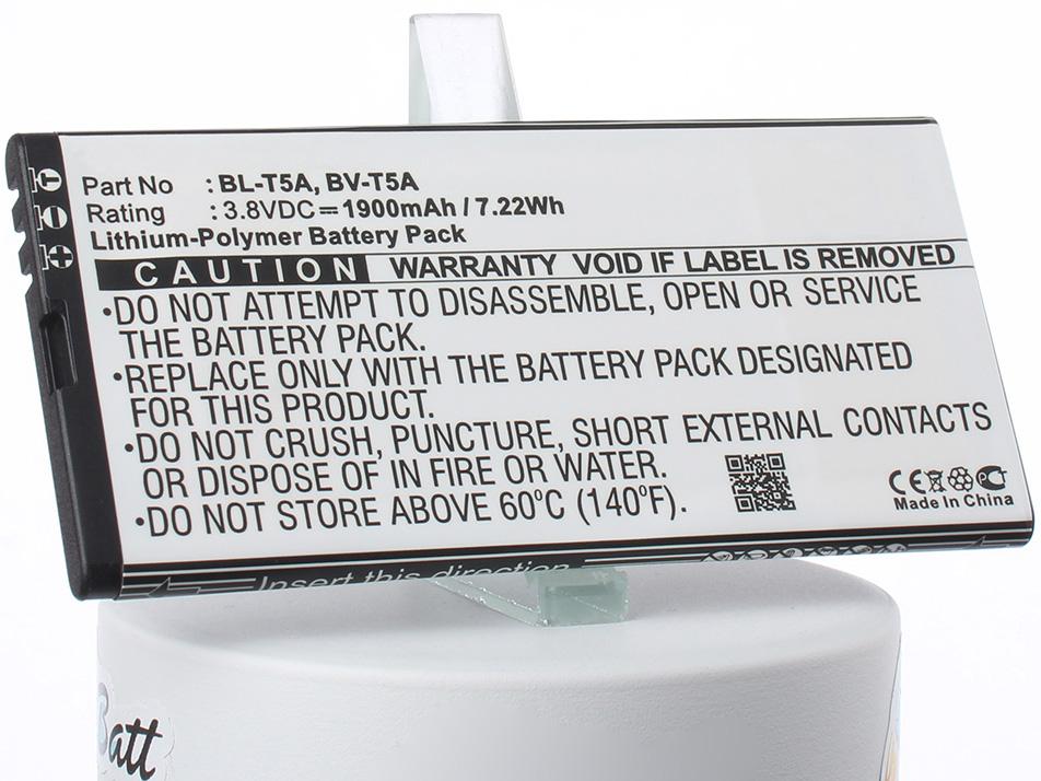 Аккумулятор для телефона iBatt BL-T5A, BV-T5A для Microsoft Lumia 550, Lumia 730, Lumia 730 Dual SIM аккумулятор для телефона craftmann bv 5xw для nokia lumia 1020 и lumia 909
