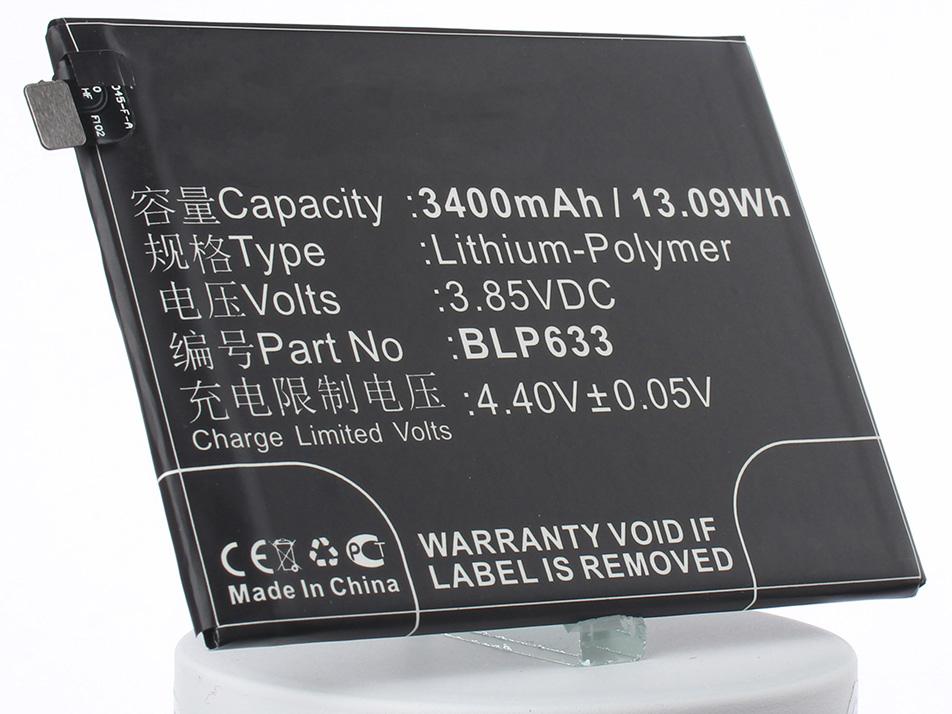 Аккумулятор для телефона iBatt BLP633 для Oneplus A3010, 3T Dual SIM, 3T цена 2017