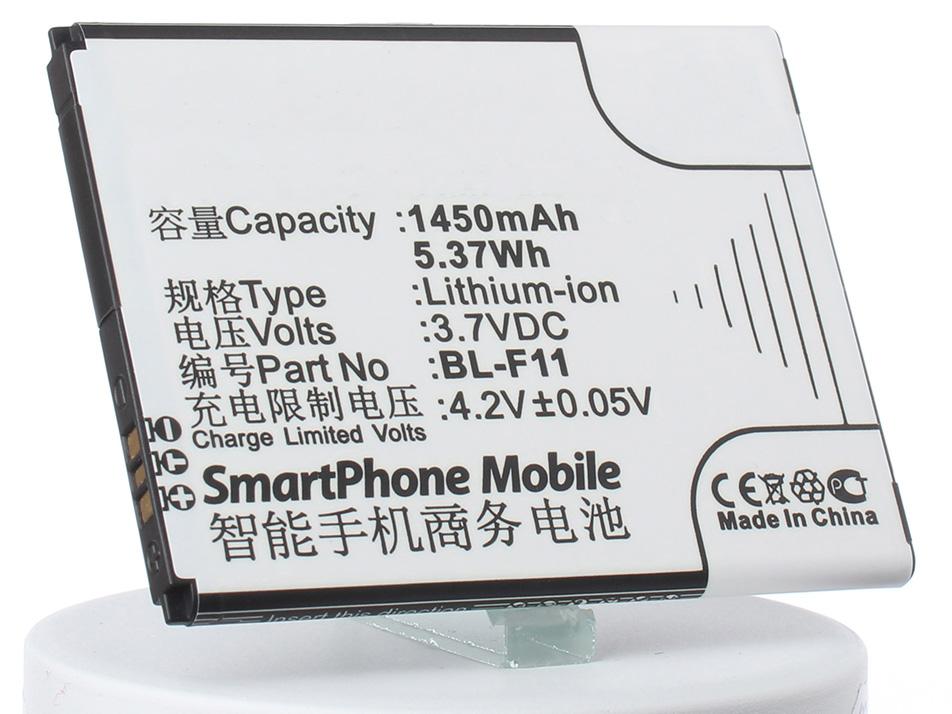 Аккумулятор для телефона iBatt BL-F11 для BBK i508, F11 аккумулятор для телефона ibatt ib bbk i508 m2494