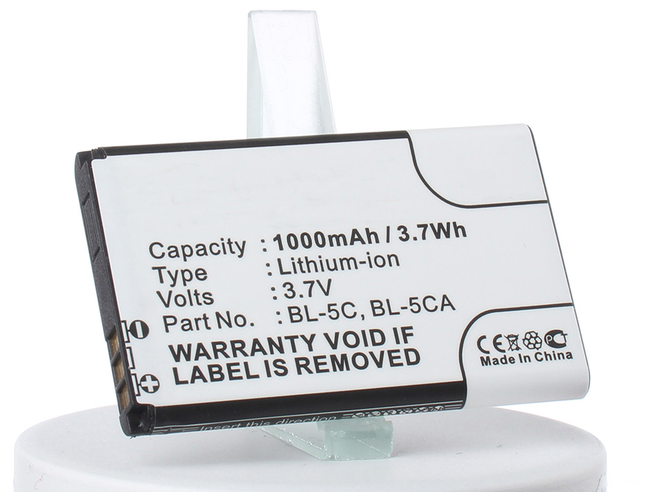 Аккумулятор для телефона iBatt AB1050GWMT для Philips E106, E103, Xenium E103 сотовый телефон philips e106 xenium red