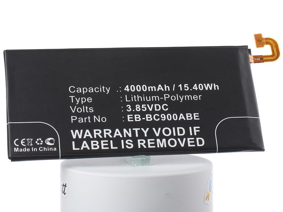 Аккумулятор для телефона iBatt EB-BC900ABE для Samsung Galaxy C9 Pro, Galaxy C9 Pro Duos, Galaxy C9 Pro Duos TD-LTE зеркальный фотоаппарат nikon d7500 af s dx nikkor 18 105vr черный
