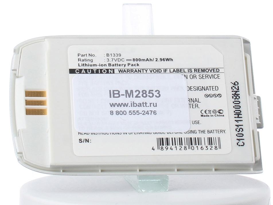 Аккумулятор для телефона iBatt B1339 для Siemens O2 X4, S80