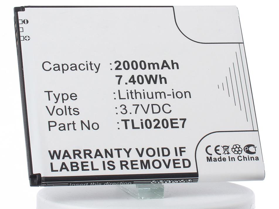 Аккумулятор для телефона iBatt TLi020E1, TLi020B2 для TCL S700T, J620 аккумулятор для телефона ibatt cp09 li3710t42p3h553657 для just5 cp09 1050 s302