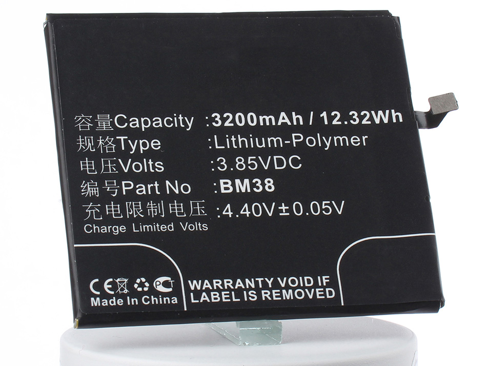 Аккумулятор для телефона iBatt BM38 для Xiaomi Xiaomi Mi 4S, Mi 4S Dual SIM аккумулятор для телефона ibatt bm21 для xiaomi mi note libra