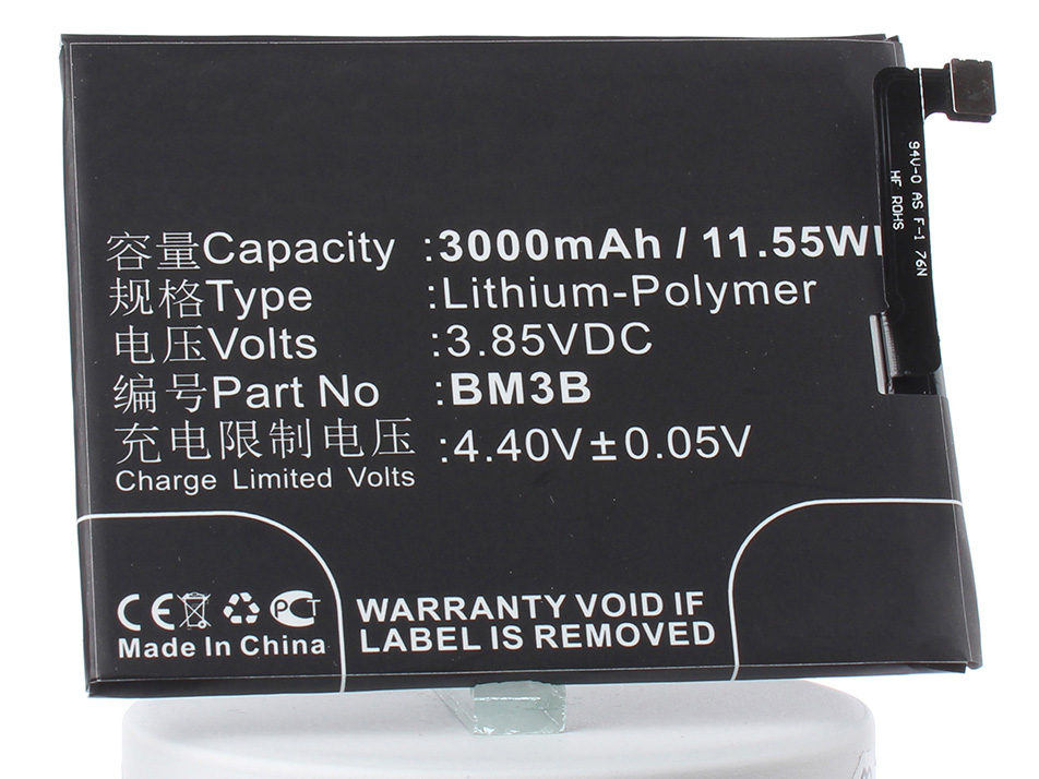 Аккумулятор для телефона iBatt BM3B для Xiaomi Mix 2, MDE5 аккумулятор для телефона ibatt ib bm3b m2987
