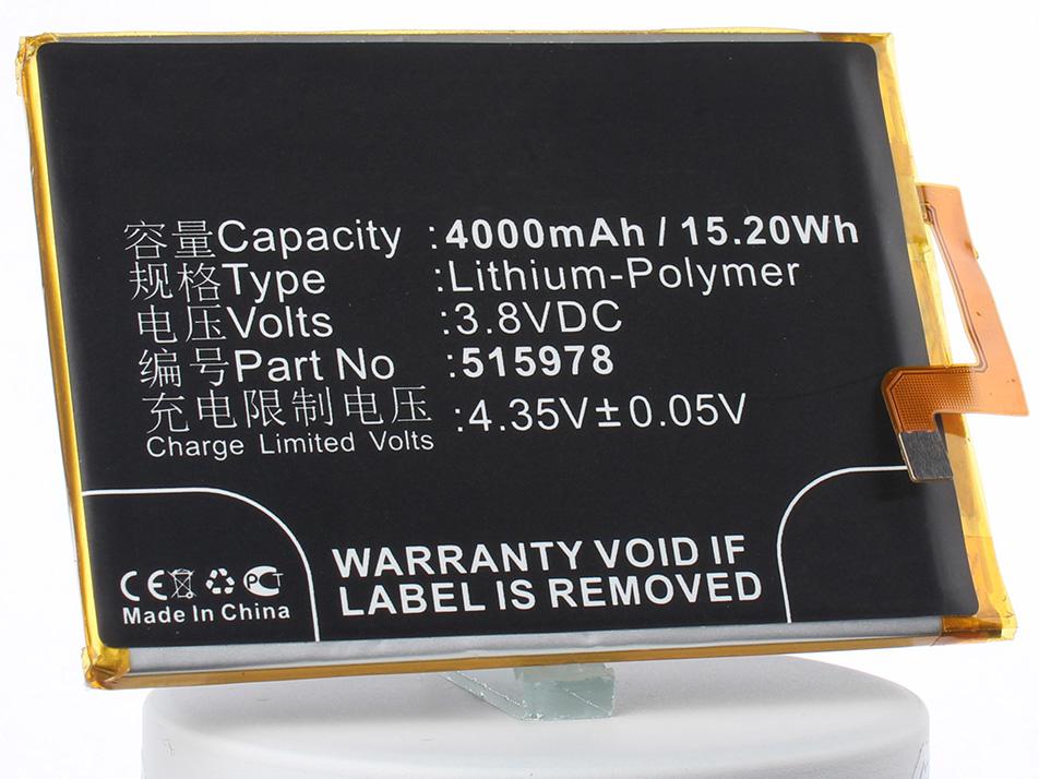 Аккумулятор для телефона iBatt 515978, E169-515978 для ZTE Blade X3, Blade D2, Blade A452 сотовый телефон zte blade x3 gold